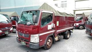 三菱ふそう 小型 幌車 SKG-FBA20 (3757) 1枚目