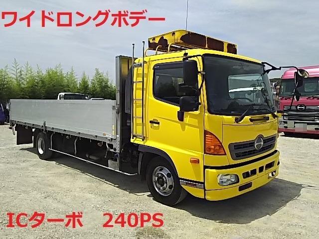 日野 レンジャー 中型 アルミブロック TKG-FD7JLAA(7600) 1枚目