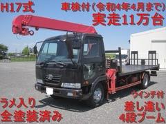 UDトラックス(日産) 中型 セルフクレーン PB-MK36A (10496) 1枚目