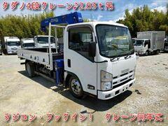 いすゞ 小型 クレーン付き TKG-NMR85AR (11586) 1枚目