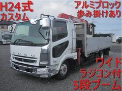 三菱ふそう 増トン クレーン付き PDG-FK61F (11887) 1枚目